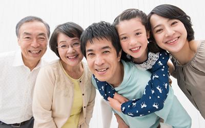 リハビリ効果のカギを握るのはご本人の強い意志とご家族のサポートです