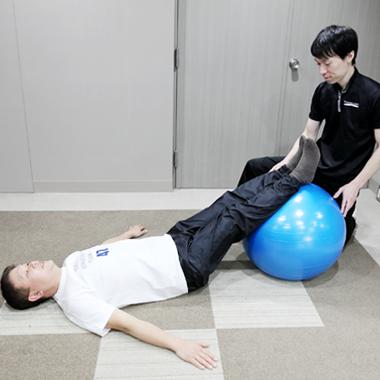 リハビリ+運動指導で、身体の機能改善と再発予防をサポート